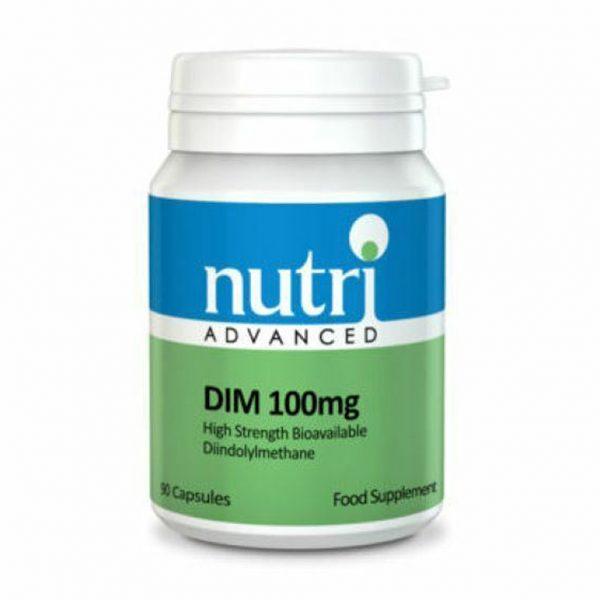 Nutri Advanced DIM (Diindolylmethane) 100mg | Meyer Clinic