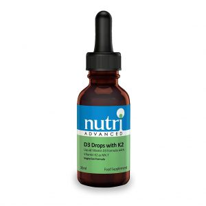 Nutri Advanced Vitamin D3 with K2 Drops | Meyer Clinic