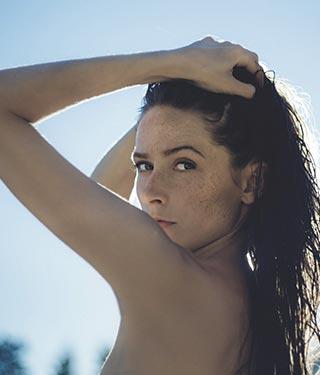 Woman on beach | Meyer Clinic